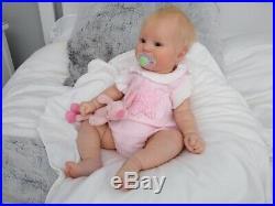 (Alexandra's Babies) Reborn (vinyl) baby doll Maddie by Bonnie Brown 1st edition