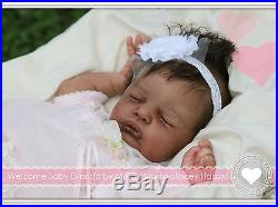 Anastasia Auer, vinyl collectible reborn lifelike art baby doll