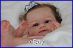 Art reborn doll Mary by Olga Auer, advertises Olga Konovnina, sweet babyes