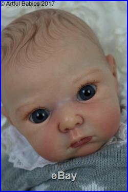 Artful Babies Amazing Reborn Lola Stoete Baby Girl Doll Long Sold Out