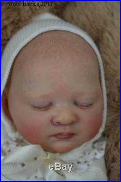 Artful Babies Reborn Lilia Blick Ultra Real Baby Girl Doll Long Sold Out