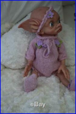 Artful Babies Reborn Tinky Manor Elf Baby Girl Doll Iiora Est 2003