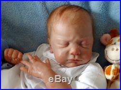 Artful Babies Resell Rare Jayden Natalie Scholl Realistic Reborn Baby Boy Doll