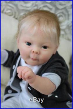 Artful Babies Spectacular Reborn Marcus Kitagawa Baby Boy Doll So Lifelike