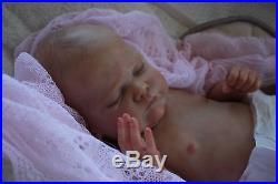 Artful Babies Stunning Reborn Genevieve Brace Ultra Real Baby Girl Doll
