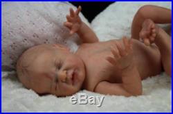 Artful Babies Stunning Reborn Journey Eagles Half Torso Baby Girl Doll