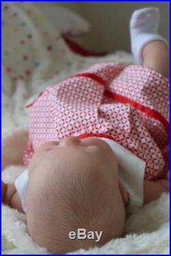 Artful Babies Stunning Reborn Kai Russel Big Chunky Baby Girl Doll