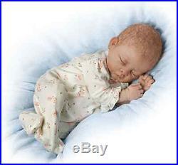 Ashton Drake Lifelike Baby Doll Sophia Breathing Poseable Weighted
