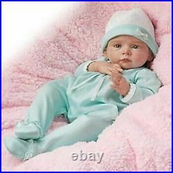 Ashton Drake Peyton Real Touch Vinyl baby doll NIB