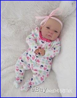 Awake Reborn Baby GIRL Doll Newborn. #RebornBabyDollArtUK