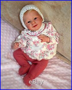 BABY REBORN DOLL SUNNY BY JOANNA KAZMIERCZAK La Nursery de Shiru PRAISE ARTIST