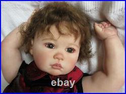 BEAUTIFUL Reborn Baby GIRL Doll JULIETA by PING LAU PARIS ALLEY Toddler