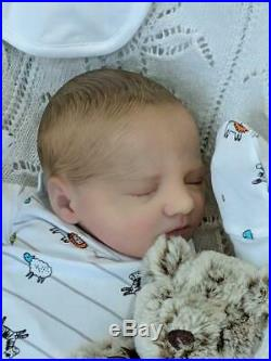 BM Originals Reborn Baby Boy Doll Realborn Jaxson tiny baby 18