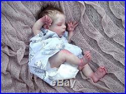 BREATHING Lifelike Vinyl Reborn Baby Doll Preemie Premature