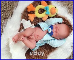 Baby Boy Crying Doll Berenguer 14 inch Real Reborn Soft Vinyl Preemie LifeLike