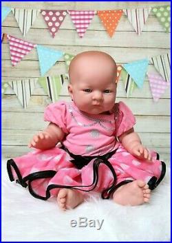 Baby Doll Girl Preemie Newborn 18 Reborn Vinyl Silicone Real(last Edition Doll)