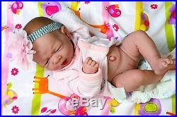Baby Girl Doll Real Reborn Berenguer 15 Inches vinyl Clothes lifelike Newborn