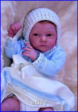 Baby Reborn Doll Malea By Gudrun Legler Silvia Prieto Praise Artist