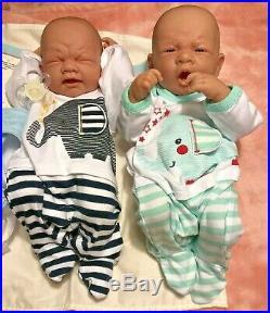 Baby Twins Reborn Doll Berenguer 14 PREEMIE Vinyl Preemie Life like BOY/ GIRL