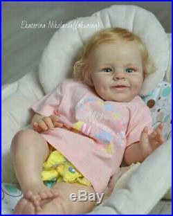Baby reborn doll Shaya by Bonnie Sieben Full LimbsGlass Eyes22 COA