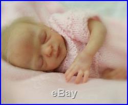 Beautiful 10 micro-preemie reborn baby doll'Promise' kit by Marita Winters