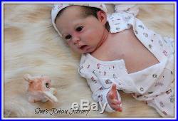 Beautiful PROTOTYPE Reborn Baby Doll Vicky Sam's Reborn Nursery
