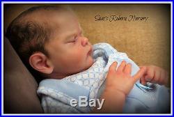Beautiful Reborn Baby Boy Doll Genevieve Sam's Reborn Nursery