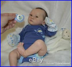 Beautiful doll reborn Grayson by Bonnie Brown Full Limbsglass eyes20