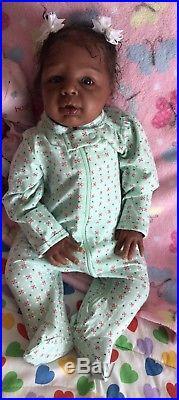 Bebe Reborn realista Reborn Baby Doll kids Biracial Kyra