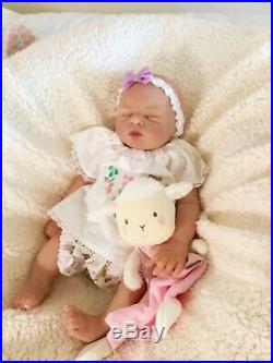 Bella Full body silicone baby doll BOnnie Seiban Painted by top silicone artist