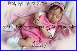 Beverleys Babies amazing, Realistic AA Black ETHNIC Reborn BABY girl doll