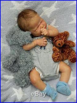 Beverleys Babies amazing, Realistic NEWBORN Reborn baby boy Doll HALF TORSO