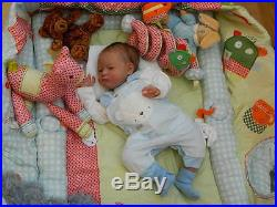 Beverleys Babies amazing, Realistic NEWBORN Reborn baby boy Doll/ LTD ED