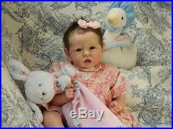 Beverleys Babies amazing, Realistic Reborn baby girl Doll 1st ed Saskia Brown