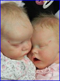 Beverleys Babies amazing, Realistic Reborn baby girl Doll Twin A Bonnie Brown