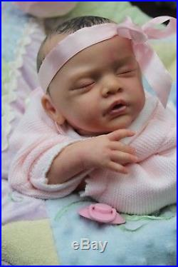 Beverleys Babies super realism girl doll REBORN ltd edition 356/777