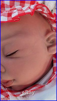 Bi Racial Ethnic Baylee Reborn Baby Doll Lorna Miller Sands/ Sunbeambabies