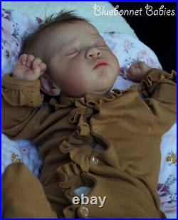 Bluebonnet Babies REBORN Doll Baby Girl MiaIrina Kaplanskaya SO REALISTIC