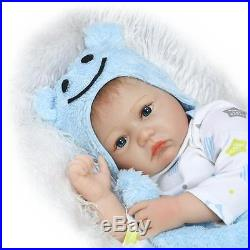 Boy-girl Twins Handmade Baby Doll Silicone Vinyl Reborn Newborn Dolls + Clothes