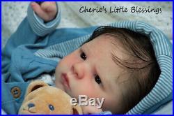 CHERIE'S LITTLE BLESSINGSRebornDollBabyBoyCORVINSabine Altenkirch