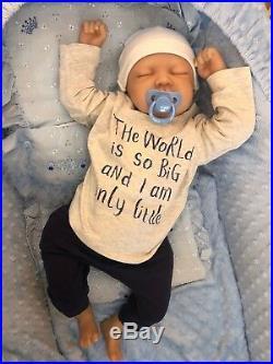 CHERISH DOLLS CHILDRENS REBORN REAL BABY BOY JAY REALISTIC 22 4lb 4oz UK CHEAP