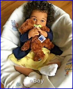 CUSTOM AA Biracial Ethnic 6 Months Reborn Baby Girl/Boy Doll Elliot