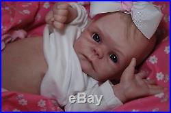 CUSTOM MADE NEWBORN! Reborn ooak doll life like vinyl art ARTIST Baby doll