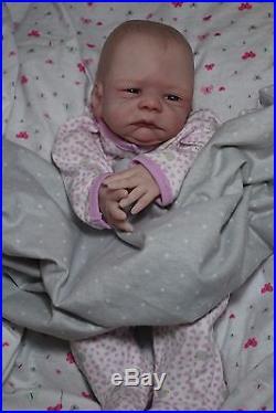 CUSTOM MADE NEWBORN! Reborn ooak fake baby life like vinyl art ARTIST doll