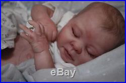 CUSTOM MADE PREEMIE Reborn doll baby ooak lifelike vinyl art ARTIST KAELIN
