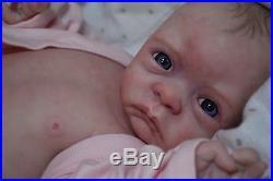 CUSTOM MADE Paige reborn OOAK art artist BABY vinyl life like DOLL fake Newborn