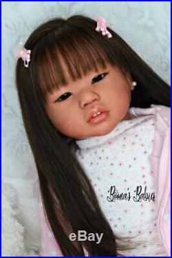 CUSTOM ORDER! Reborn Doll Baby Girl Toddler Amaya by Conny Burke