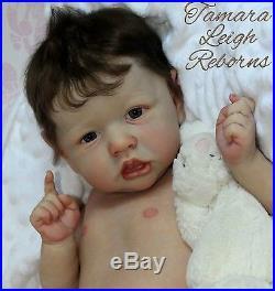 CUSTOM Reborn Baby Boy/Girl Doll from Saskia by Bonnie Brown Kit
