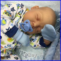 Cherish Dolls Childrens Reborn Doll Real Baby Boy Justin Realistic 22 Newborn