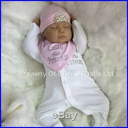 Cherish Dolls New Reborn Baby Olivia Fake Babies Realistic 22 Big Newborn Girl
